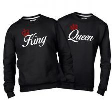 Sudaderas King Queen