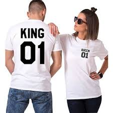 Camisetas King Queen